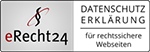 eRecht24 Logo - Datenschutzerklärung