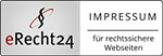eRecht24 Logo - Impressum