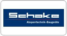 Logo Schake Absperrtechnik und Baugeräte